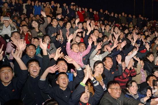 احتفالات كوريا الشمالية