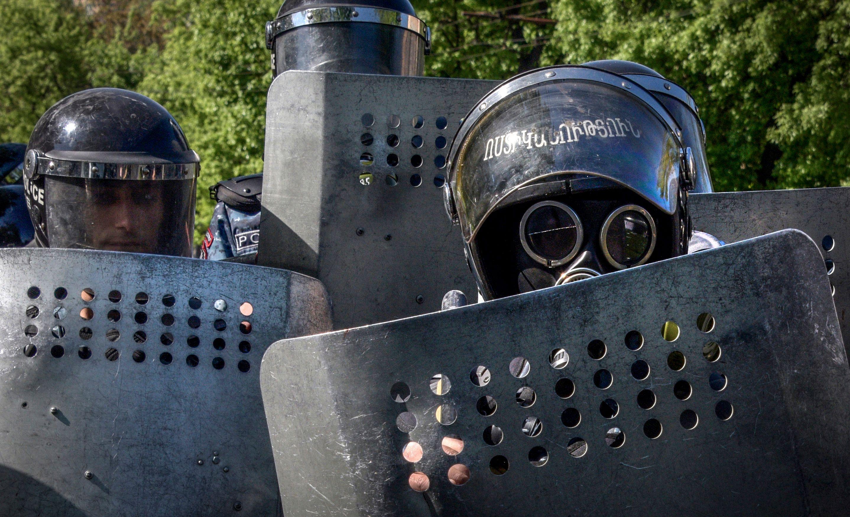 قوات الأمن فى ارمينيا