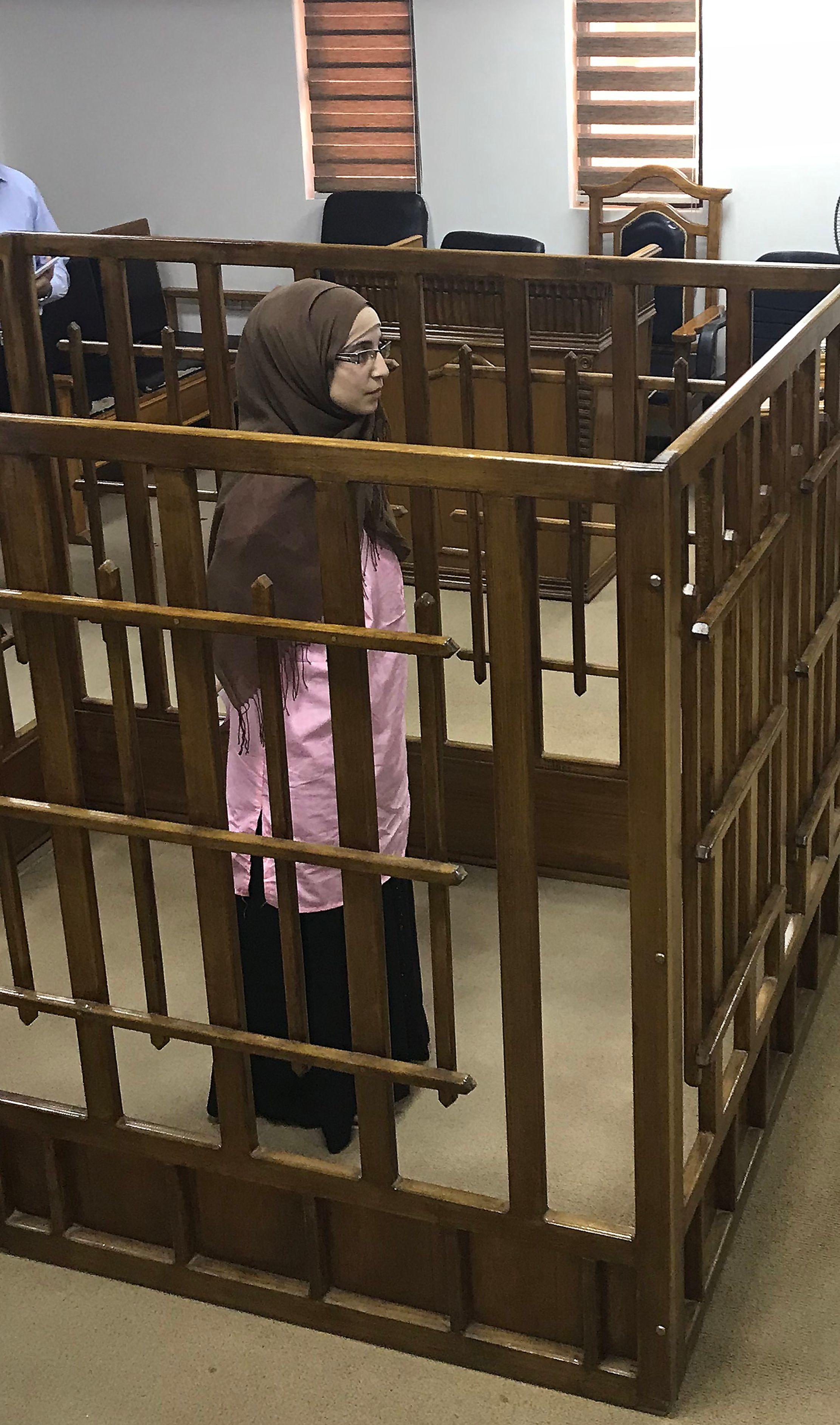 جانب من المحاكمة
