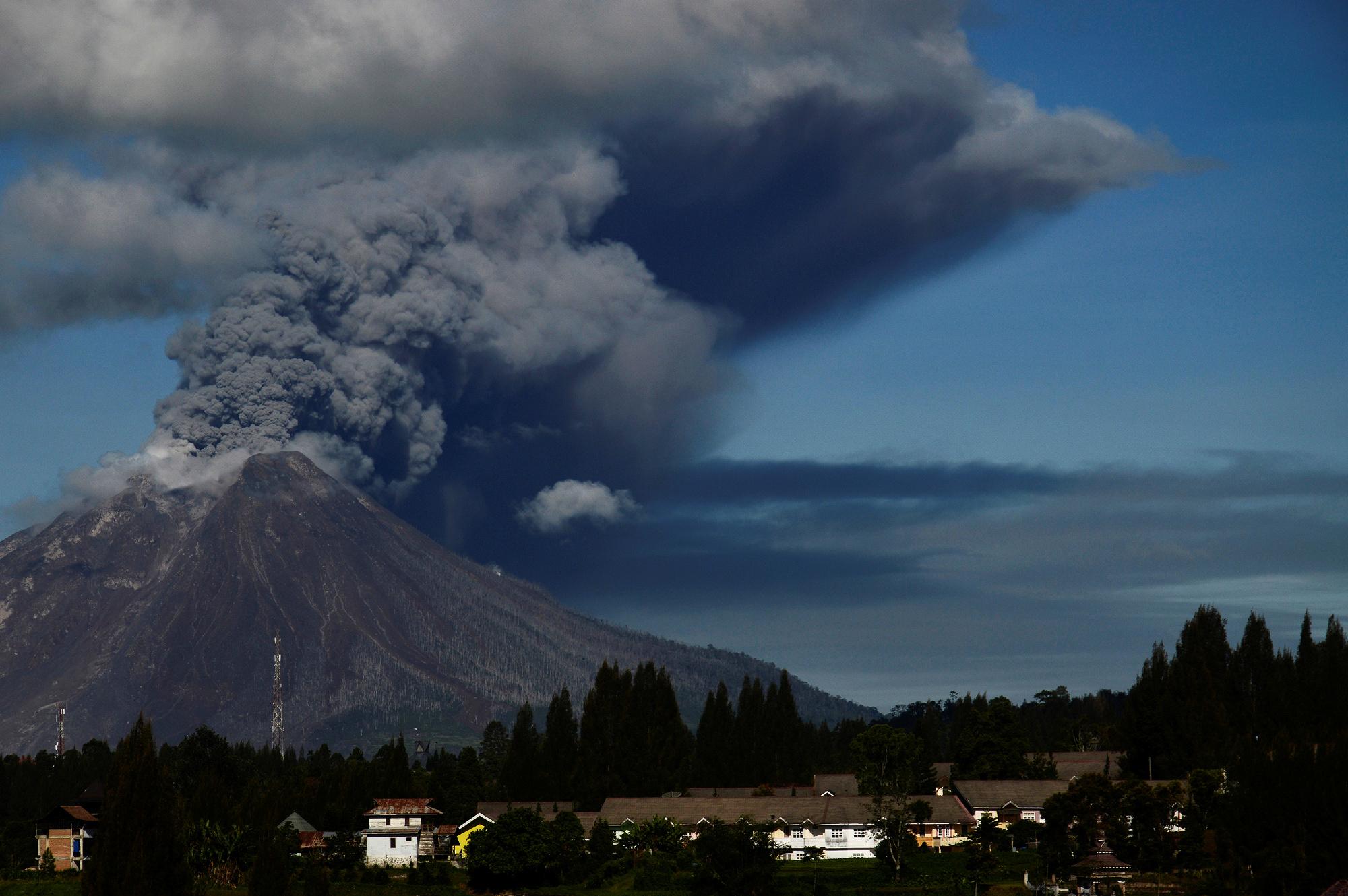 بركان جبل سينابنج