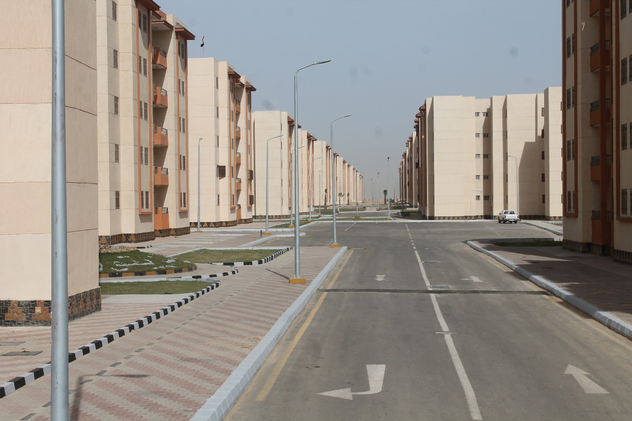 الوحدات السكنية بمدينة السادات (3)