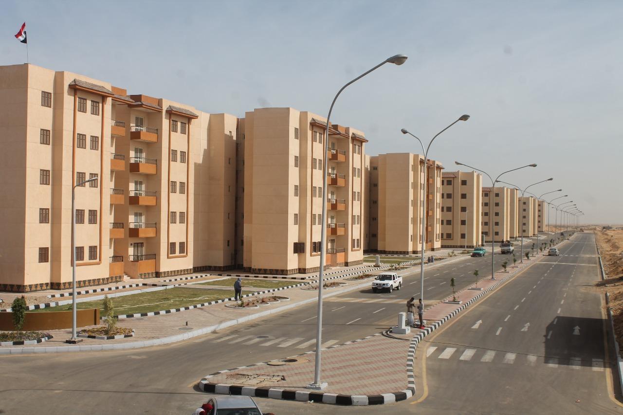 الوحدات السكنية بمدينة السادات (2)