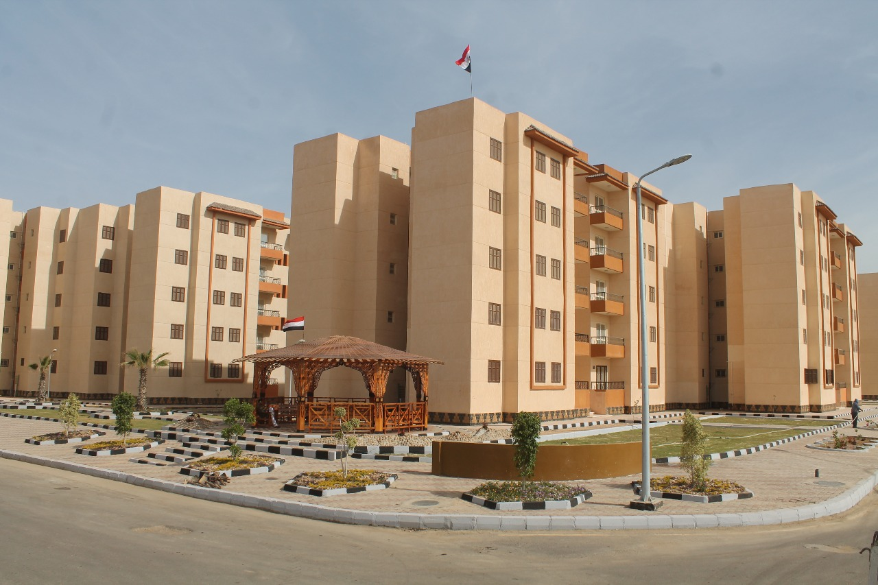 الوحدات السكنية بمدينة السادات (4)