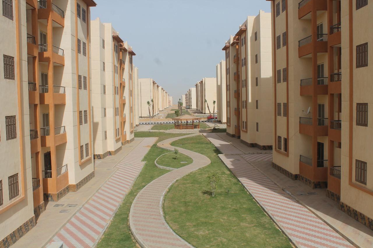 الوحدات السكنية بمدينة السادات (12)