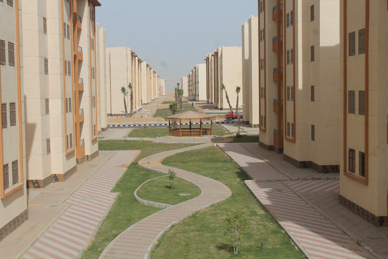 الوحدات السكنية بمدينة السادات (10)