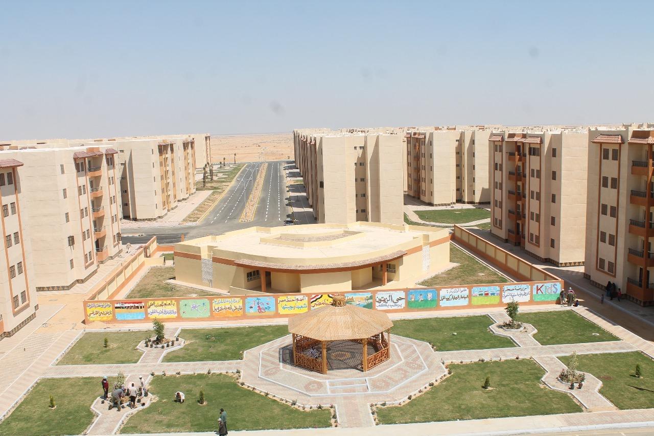 الوحدات السكنية بمدينة السادات (15)