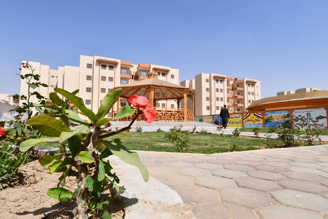 الوحدات السكنية بمدينة السادات (1)