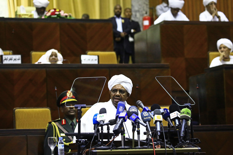 كلمة الرئيس السودانى داخل البرلمان