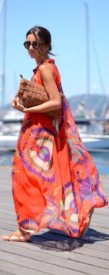فستان الشيفون