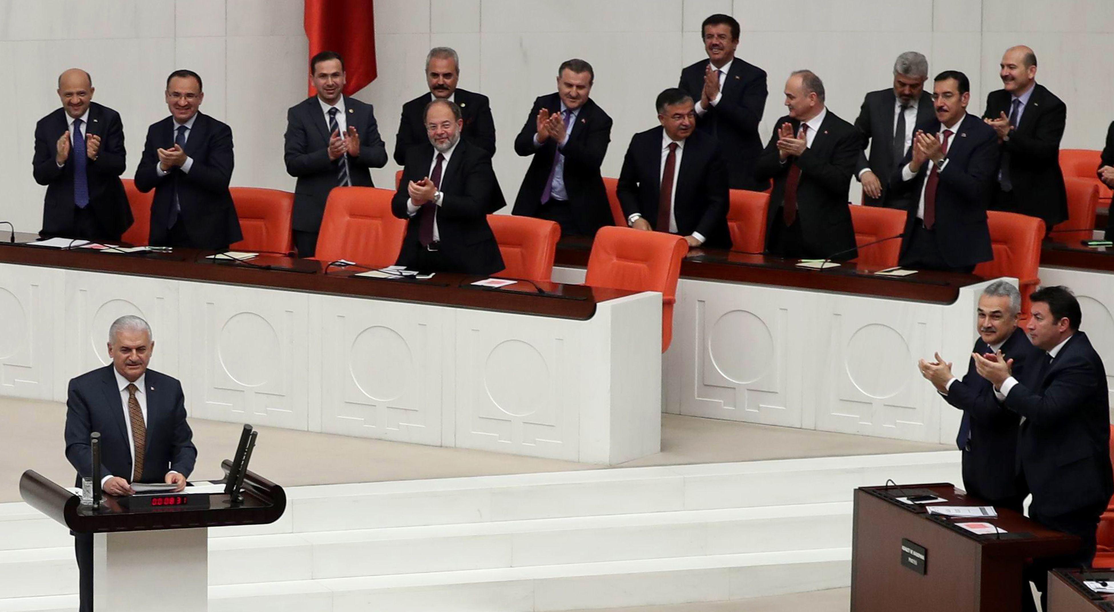 كلمة رئيس الوزراء التركي