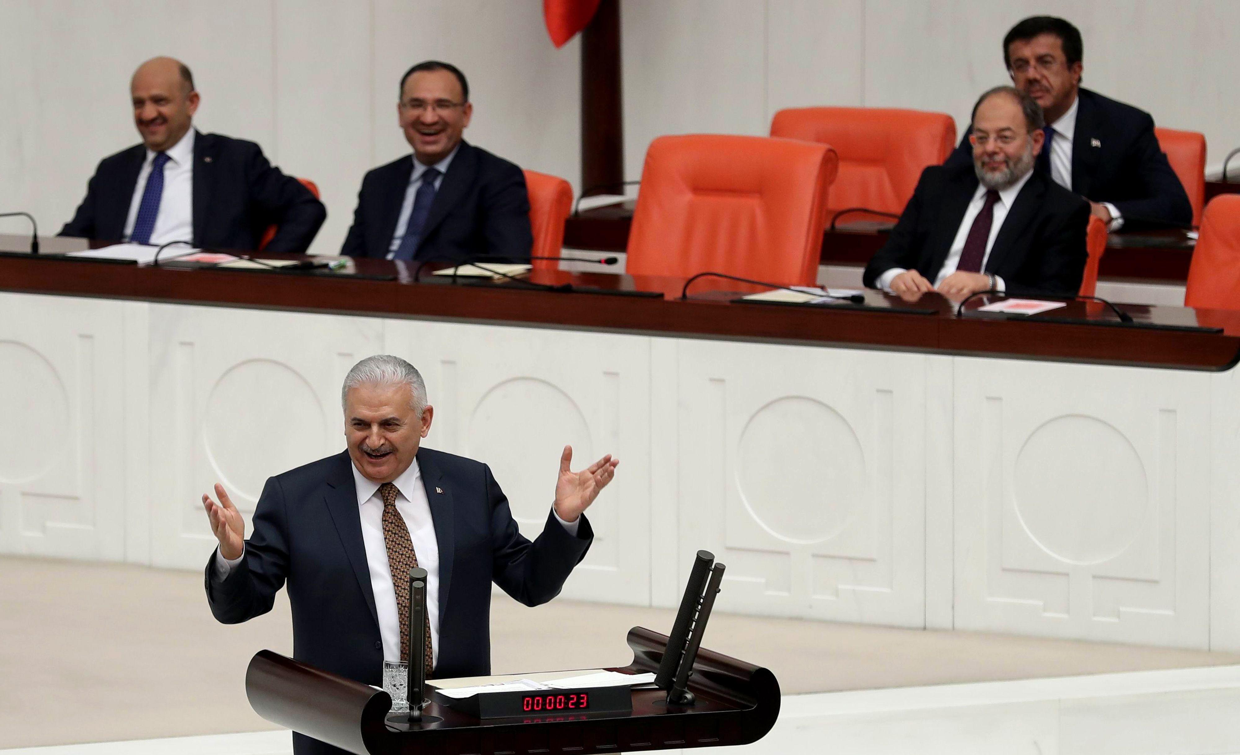رئيس الوزراء التركي يلديريم
