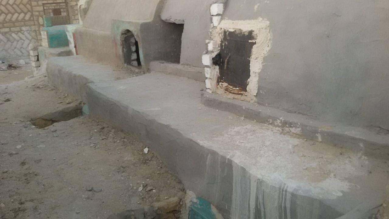 ارتفاع اسعار المقابر فى بنى سويف (1)