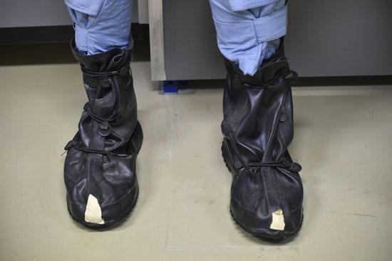 حذاء أعضاء المنظمة