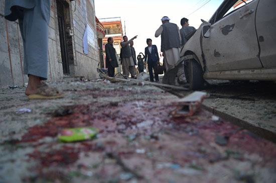 أثار التفجير قرب مركز إدارى فى أفغانستان