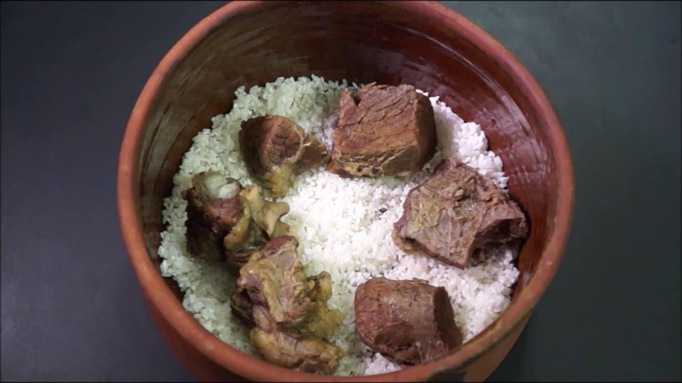 طريقة عمل الأرز المعمر  (1)