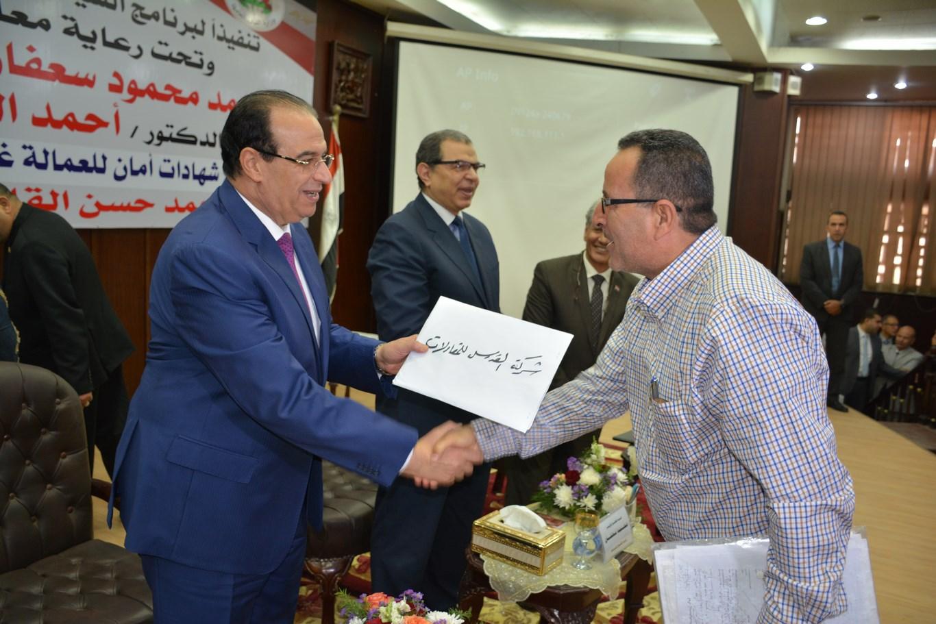 محمد سعفان وزير القوى العاملة (22)