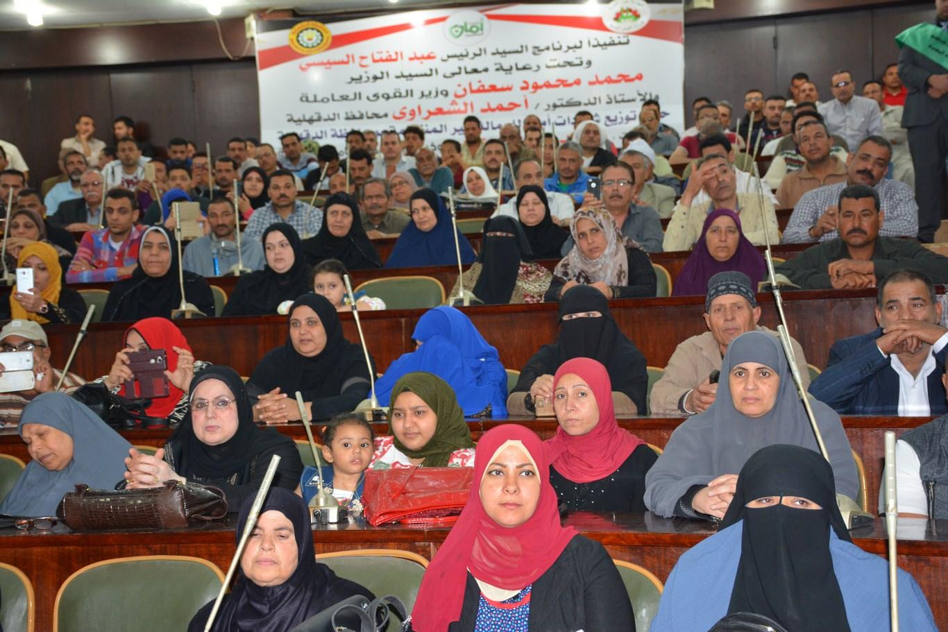 محمد سعفان وزير القوى العاملة (4)