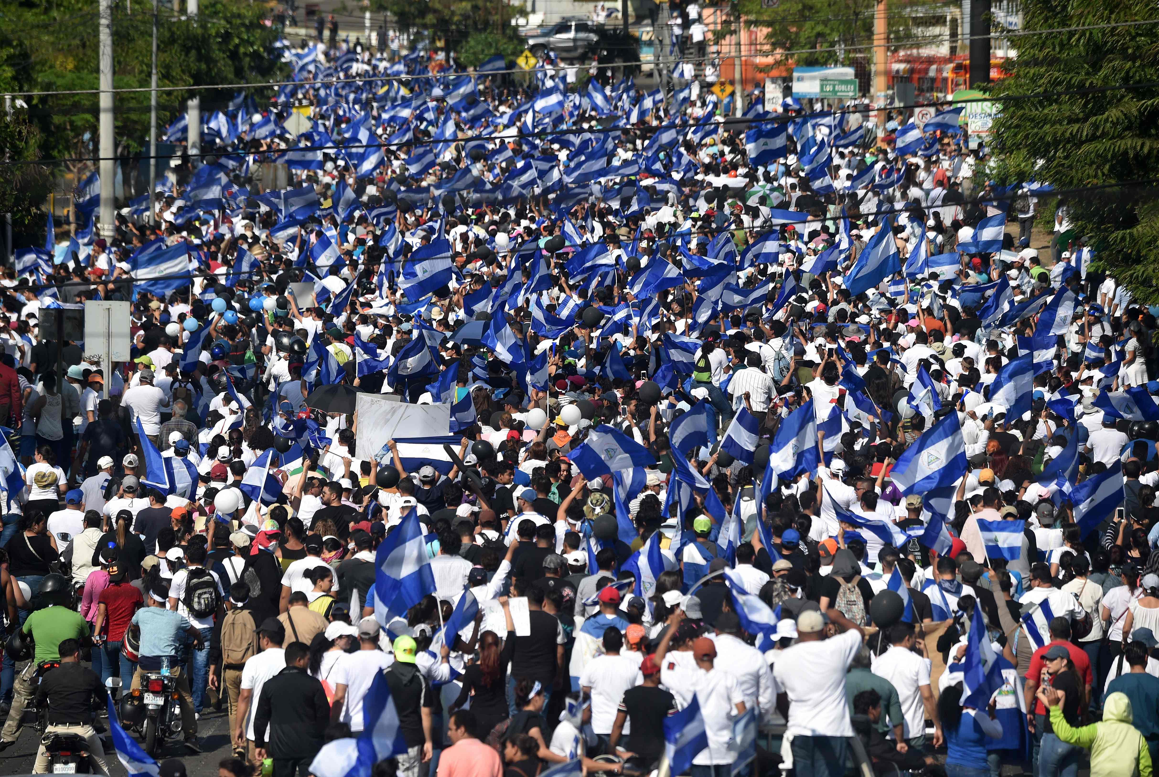 تظاهرات فى نيكارجوا