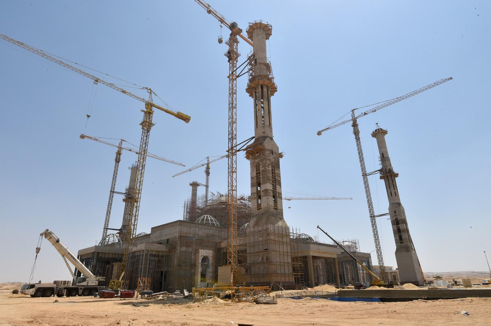 مسجد العاصمة الإدارية  (3)