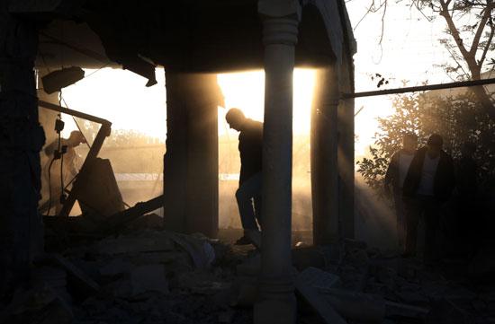 منزل الأسير الفلسطينى