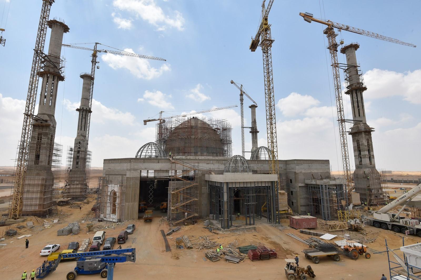 مسجد العاصمة الإدارية  (5)