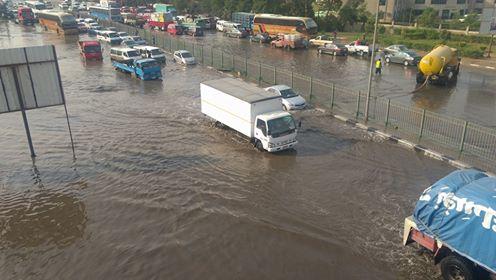 أمطار غزيرة تضرب المعصرة (4)
