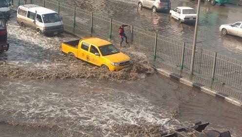 أمطار غزيرة تضرب المعصرة (5)