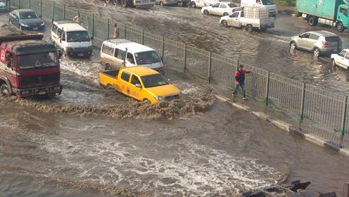 أمطار غزيرة تضرب المعصرة (2)