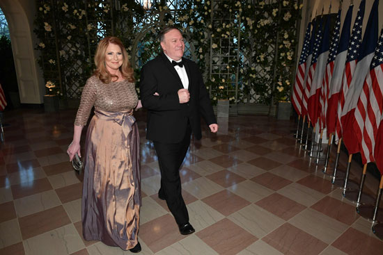 مايك بومبيو وزوجته