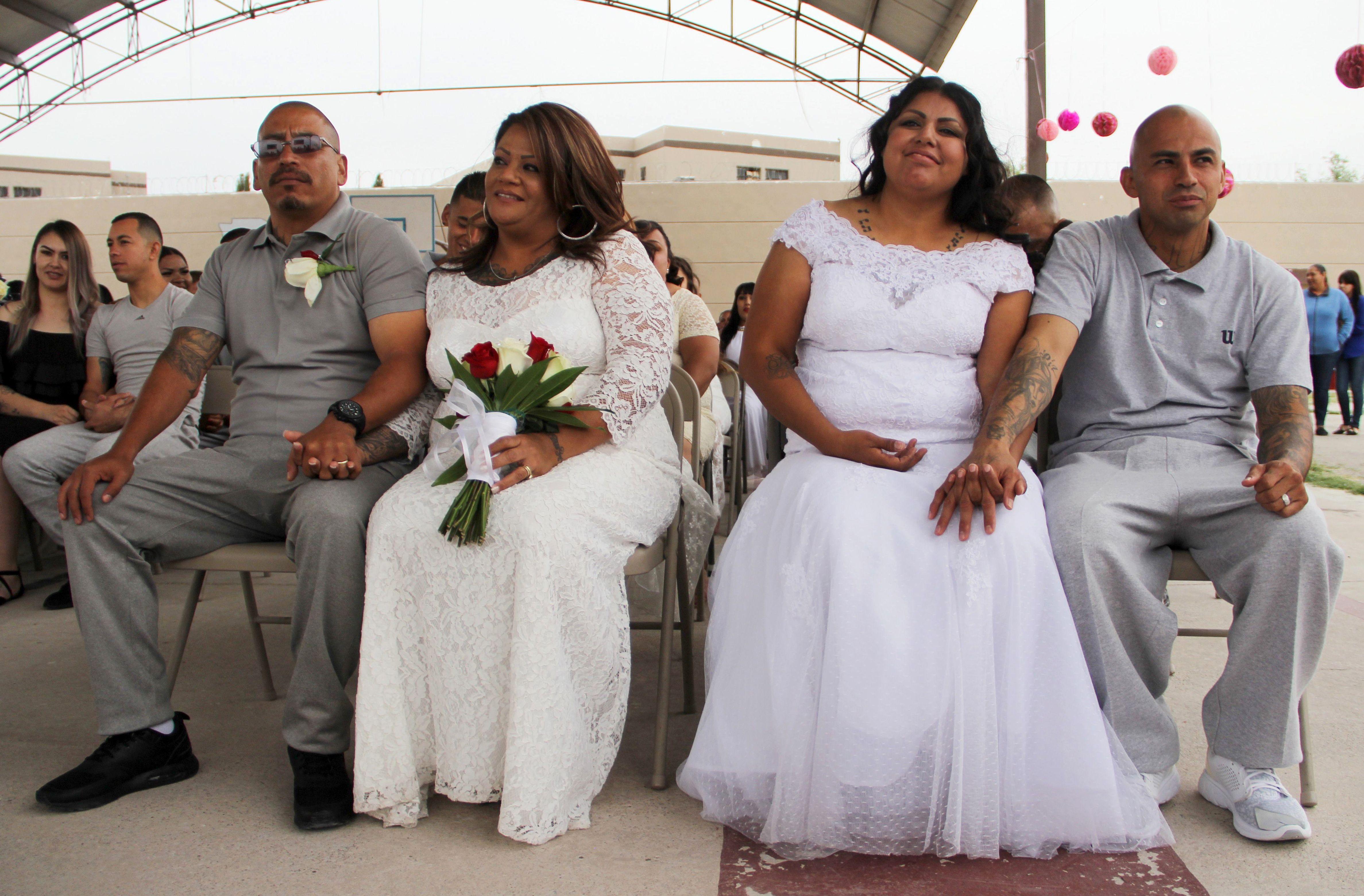 زواج جماعى وراء القضبان فى المسيك