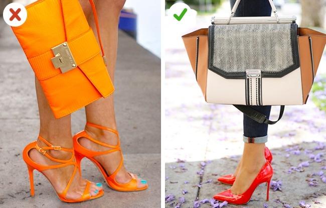 الحقيبة والحذاء