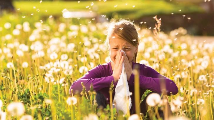 ضعى منديل على الفم لمواجهة تقلبات الجو