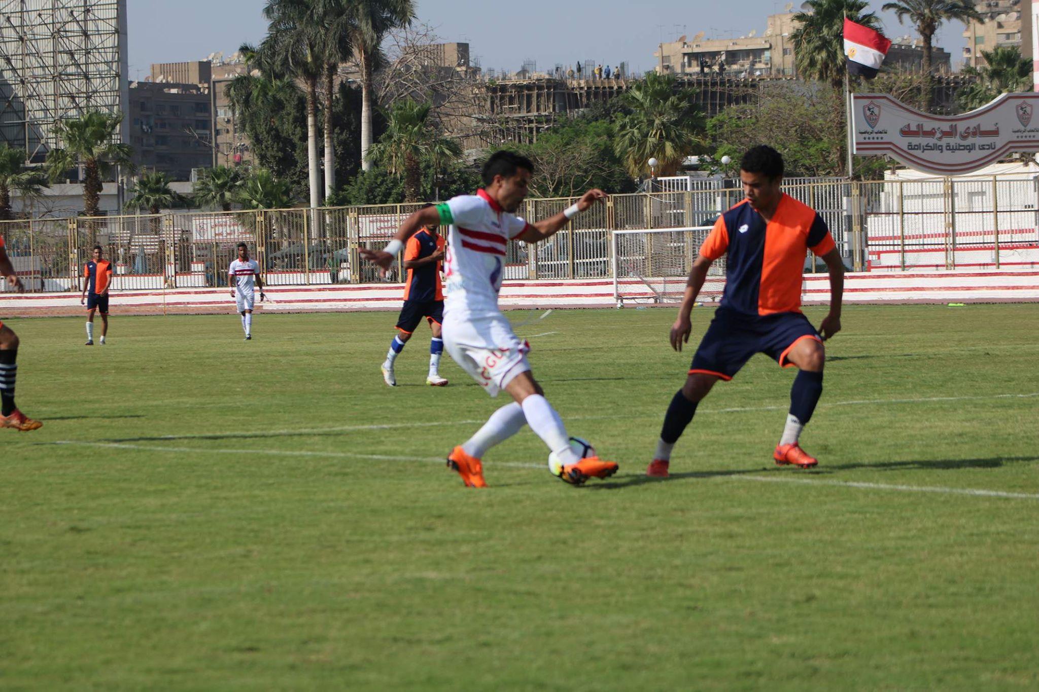 ودية الزمالك و كهرباء القاهرة (2)