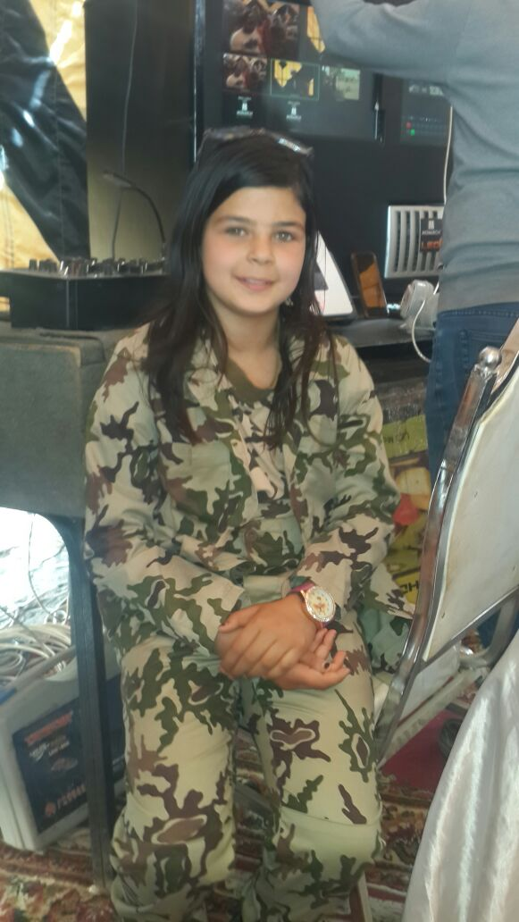 الطفلة أريج فى احدى المؤتمرات الانتخابية لتأييد الرئيس السيسى (6)