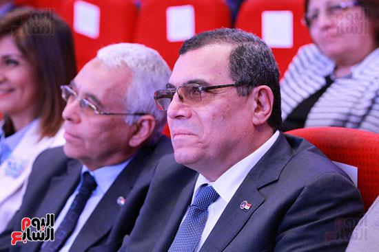 حفل ختام المؤتمر العلمى الدولى السابع لجامعة عين شمس (8)