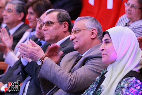 حفل ختام المؤتمر العلمى الدولى السابع لجامعة عين شمس (41)