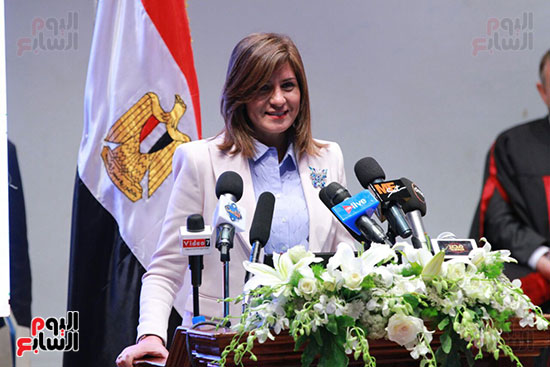 حفل ختام المؤتمر العلمى الدولى السابع لجامعة عين شمس (28)