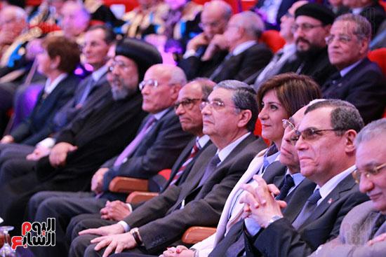 حفل ختام المؤتمر العلمى الدولى السابع لجامعة عين شمس (22)