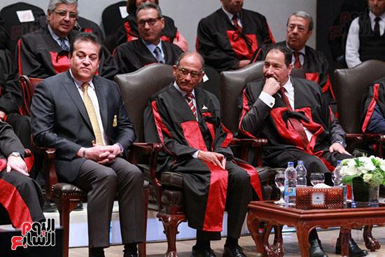 حفل ختام المؤتمر العلمى الدولى السابع لجامعة عين شمس (39)