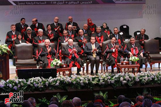 حفل ختام المؤتمر العلمى الدولى السابع لجامعة عين شمس (17)