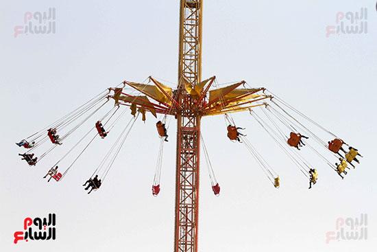 صور حتفالات كبرى لـ10 آلاف طفل يتيم بمدينة الألعاب دريم بارك (3)