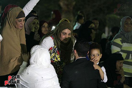 صور حفل زفاف جماعى لـ120 عريس وعروسة داخل دريم بارك فى يوم اليتيم (13)