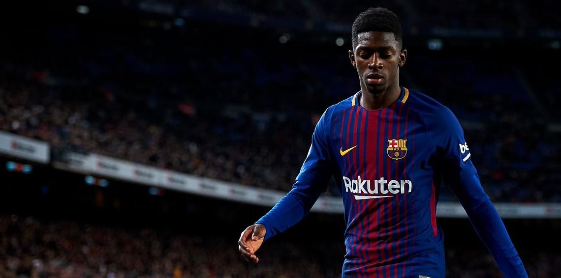 ديمبلى لاعب برشلونة