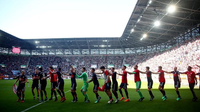 احتفالات نجوم بايرن ميونخ بعد فوزهم بالدوري الالماني (3)