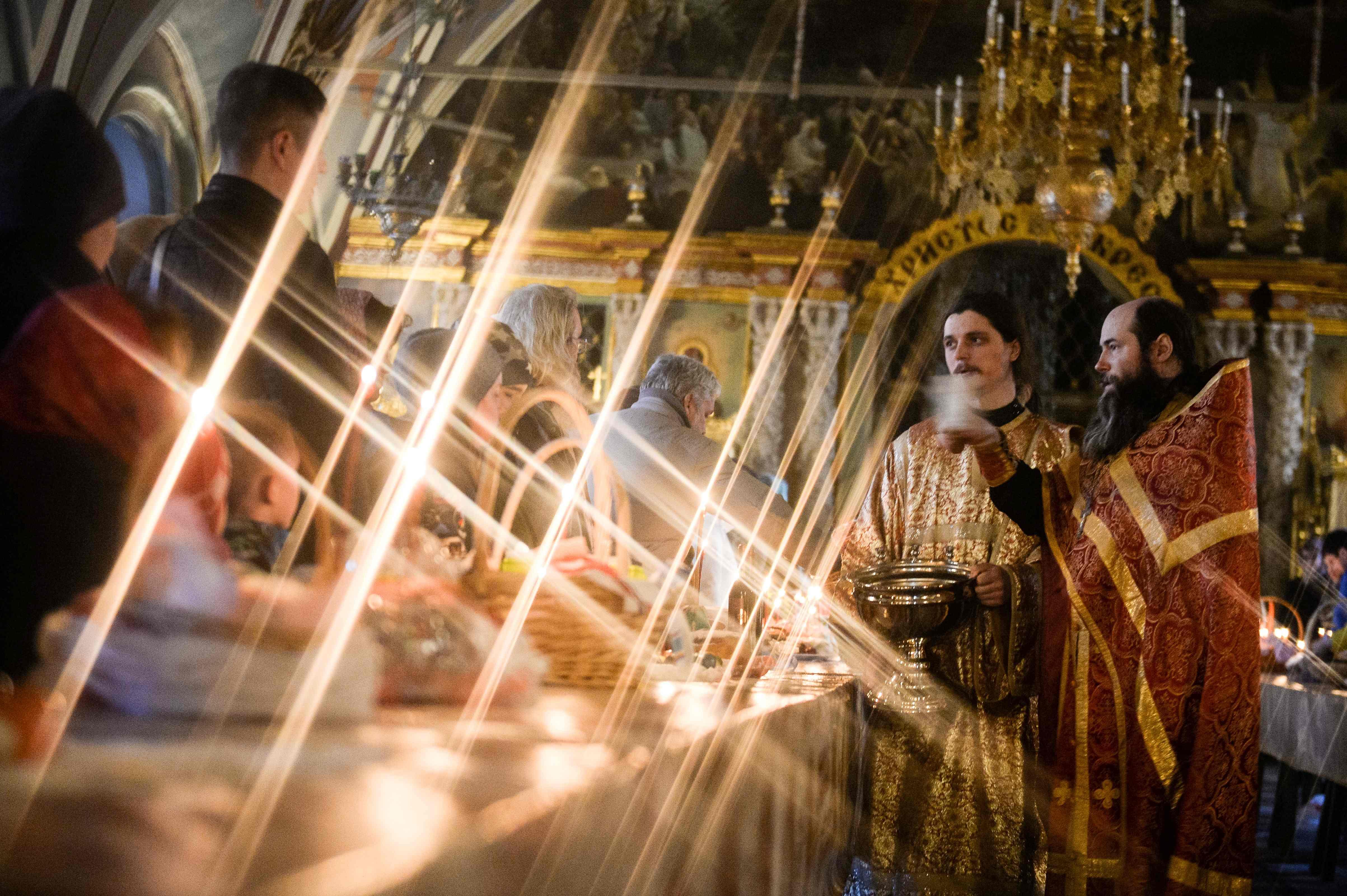 احتفالات عيد الفصح فى روسيا