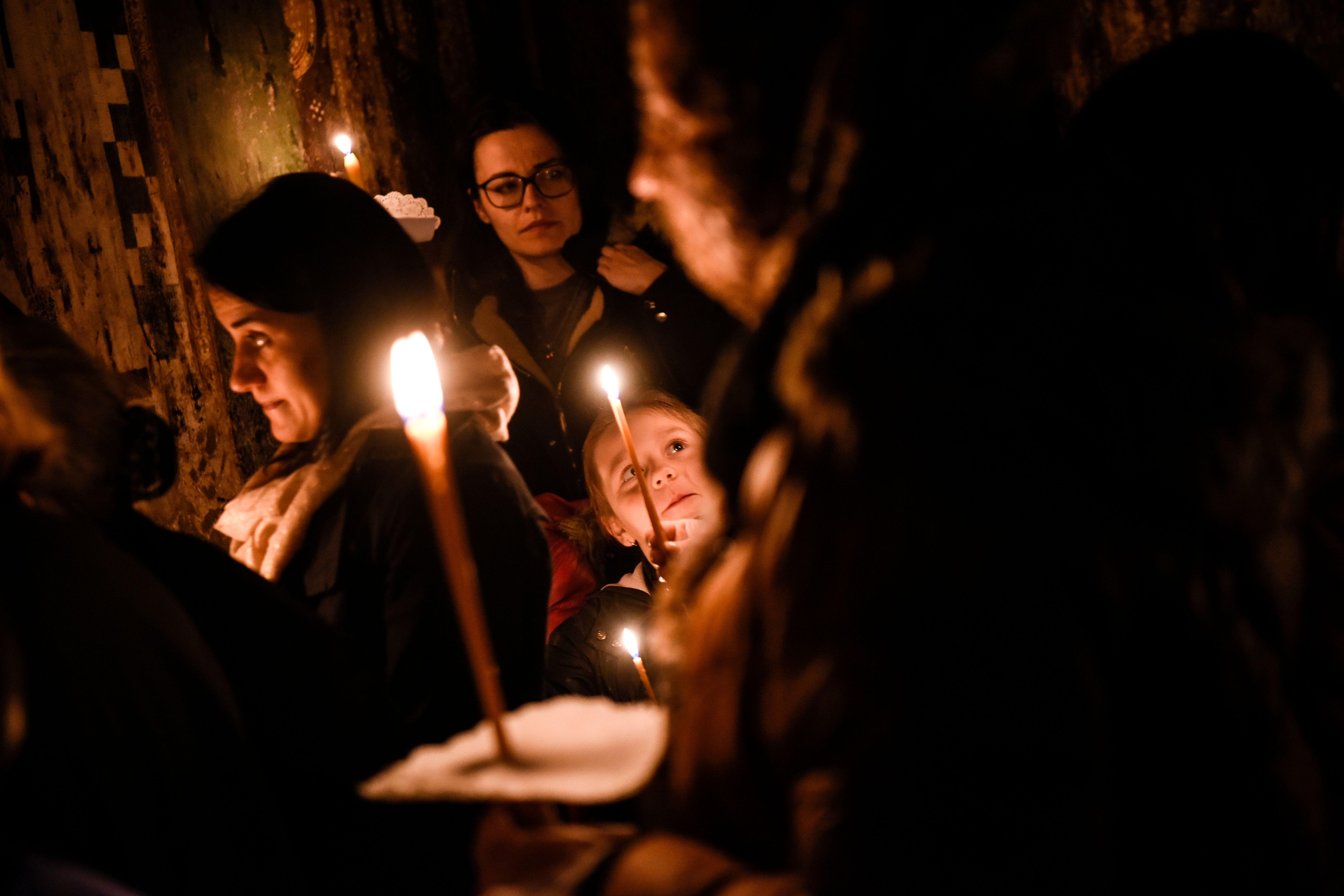 احتفالات المسيحيين فى كوسوفو