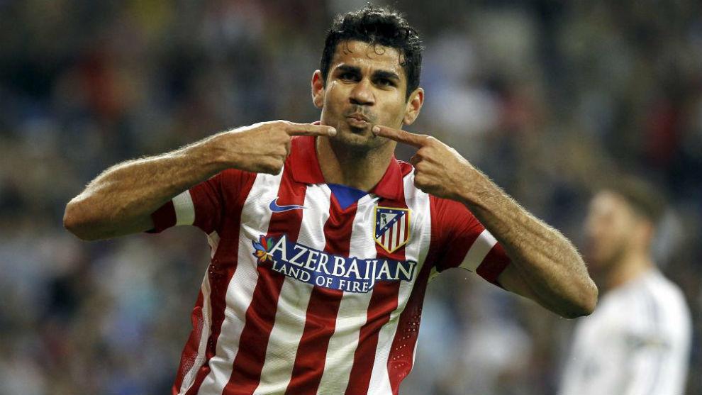 كوستا أكثر المهددين لمرمى ريال مدريد فى الديربى