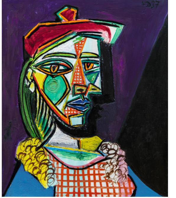 cae3242d9 شاهد.. أغلى 5 لوحات لـ بيكاسو فى ذكرى رحيله - اليوم السابع