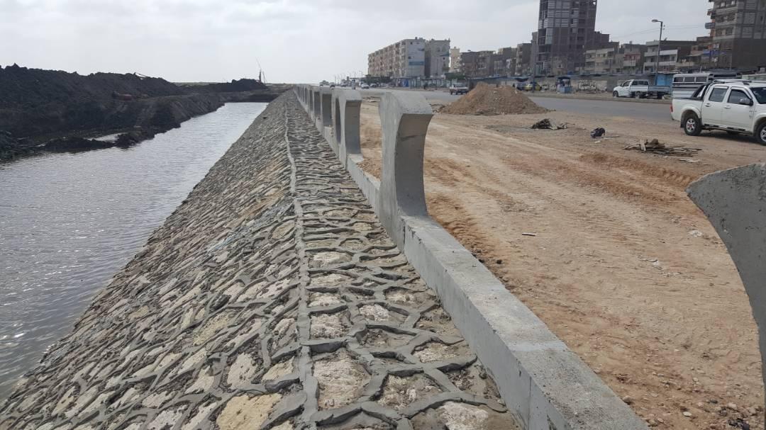 تطهير وتعميق بوغاز وبحيرة البرلس بكفر الشيخ (6)