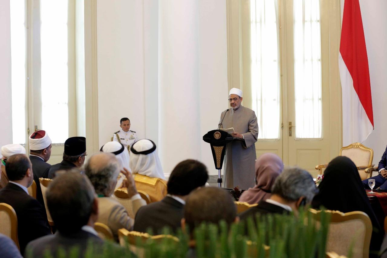 جانب من اللقاء التشاوري العالمي حول وسطية الإسلام في إندونيسيا (8)